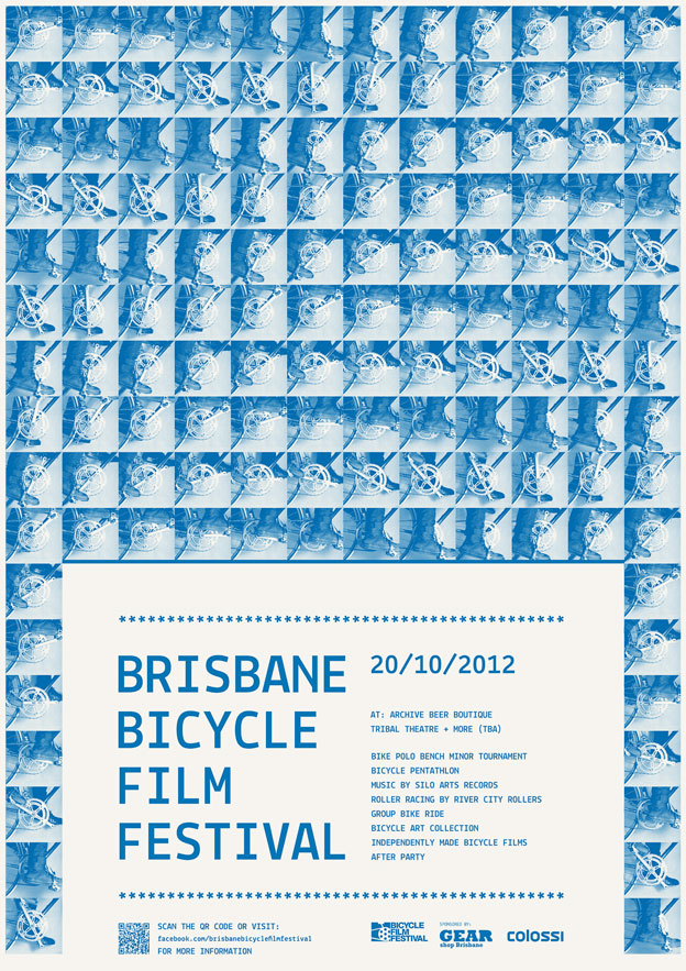Bicycle Film Festival — Poster Full